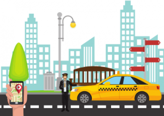 gojek clone app - taxi booking